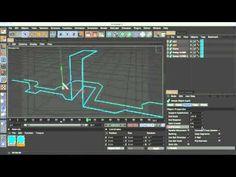 Animated edges in Cinema 4D