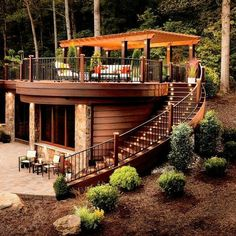 """Another amazing outdoor space design. ""Another amazing outdoor space design. Shipping Container Home Designs, Container House Design, Tiny House Design, Café Design, Design Ideas, Container Cafe, Cargo Container, Casas Containers, Tiny House Cabin"