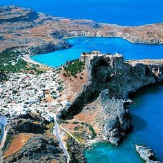 Lindos,Rhodes,Greece