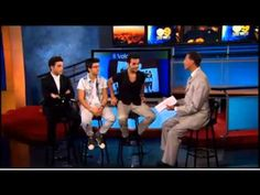Il Volo on CBS Los Angeles KCAL 9 (Interview), 6/27/13, 4:53 min, plus some singing