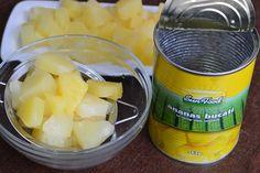 Desert la pahar, cu crema de iaurt si ananas - CAIETUL CU RETETE Cantaloupe, Fruit, Food, Meal, The Fruit, Essen, Hoods, Meals, Eten