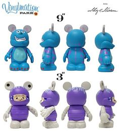 @Amanda White  Oh I guess they were in Park Series #4 but I IDK if they are still available in stores at Disney!