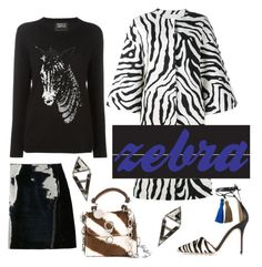 """""""zebra"""" by janesmiley ❤ liked on Polyvore featuring J.Crew, ADAM, Emporio Armani, Markus Lupfer, Ermanno Scervino and ADORNIA"""