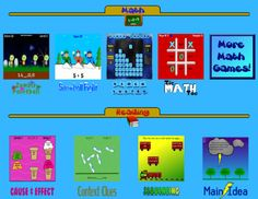 Free Math Games, Room Recess, The Schroeder Page, Photo