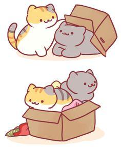 Neko Atsume Neko Cat, Kawaii Cat, Cute Little Kittens, Cute Cats, Neko Atsume, Kitty Games, Dog Illustration, Cute Doodles, Kawaii Drawings
