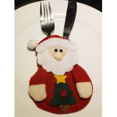 SHARE & Get it FREE | Christmas Party Table Decor Santa Claus Forks Tableware Cover BagFor Fashion Lovers only:80,000+ Items • FREE SHIPPING Join Twinkledeals: Get YOUR $50 NOW!