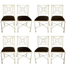 Set of 8 Neo-classical Dining Chairs