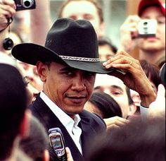 President Barack Obama the head sheriff round these parts!!
