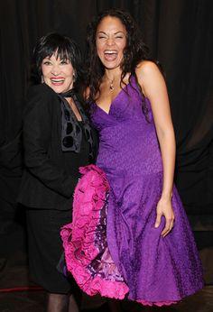 Chita Rivera and Karen Olivo Photo - Chita Rivera Visits 'West Side Story' At Palace Theater On Broadway