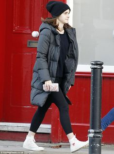This girl needs her bacon! Emma Watson was spotted picking up some groceries on Saturday in a very casual look
