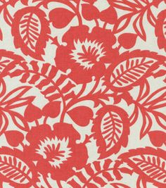 Home Decor Upholstery Fabric-Waverly Esmee / Flamingo & upholstery fabric at Joann.com