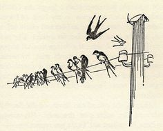 Image result for E.H. Shepard, illustration from The Wind in the Willows by Kenneth Grahame,