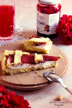 strawberry cake, red, phood photography