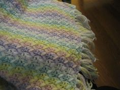 Crotchet Baby Blanket (made for Jess)
