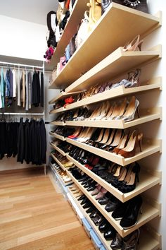 Slanted Shoe Shelves Google Search Home Ideas Shoe