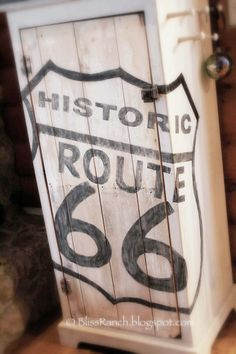 Bliss Ranch: Route 66 Stencils