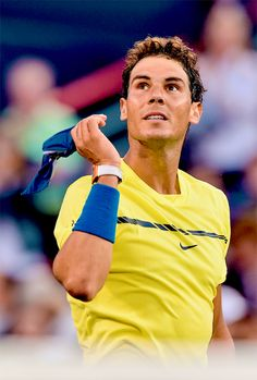 Latest news, pictures and video on tennis player Rafael Nadal Tennis Rafael Nadal, Rafael Nadal Fans, Equipe Real Madrid, Rafa Nadal, Tennis Online, Drop Shot, Tennis Quotes, Tennis Elbow, Beautiful Girl Indian