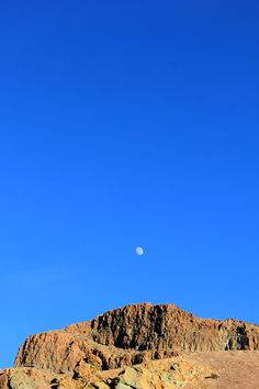 #Tenerife #Teide morning #moon . Photo's by www.bumboo.it Tenerife, Canario, Grand Canyon, Moon, Mountains, Places, Nature, Pictures, Travel