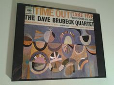 "I cut and framed an original album cover of jazz classic, Dave Brubeck's ""Time Out."""