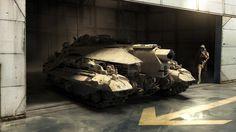 ArtStation - Plasma Tank, Nick Hiatt