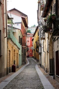 Pinerolo, Italy by Morning by Foley, via Flickr