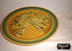 Tortilla de calabacín - http://www.mycookrecetas.com/tortilla-de-calabacin/