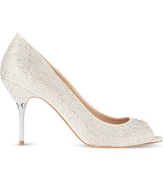 Carvela Grid Court Shoes Cream