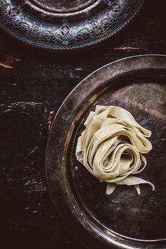 Pappardelle with Mushroom Stroganoff   #vitamix   pasta   #homemade   #recipes
