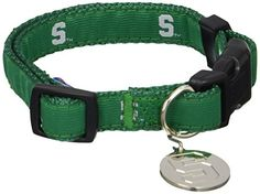 Sporty K9 Collegiate Michigan State Spartans Dog Collar Medium -- See this great product.Note:It is affiliate link to Amazon.