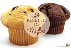 Les muffins, recettes à la fois sucrées et salées ==> http://www.ptitchef.com/dossiers/recettes/les-muffins-24-recettes-a-la-fois-sucrees-et-salees-aid-1137 #ptitchef #recette #cuisine #muffin #dessert #chocolat #fruit #cook #cooking #recipe #food