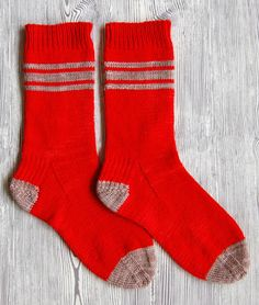 Whit's Knits: Men's Socks for Giving Away - The Purl Bee - Knitting Crochet Sewing Embroidery Crafts Patterns and Ideas!
