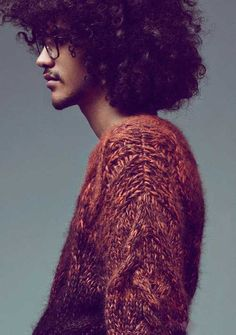 eight Afro Hairstyles for Guys   Men Hairstyles