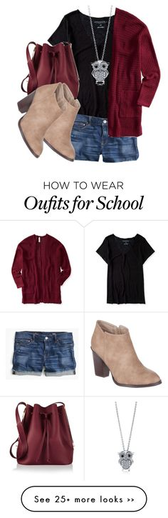 """""""School style #43"""" by jyfashion on Polyvore"""