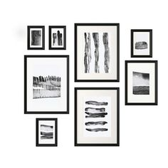 IKEA KNOPPÄNG Frame with poster, set of 8 Black The included collage template and coordinated motifs make it easy to create your own personal wall collage. Collage Mural, Frame Wall Collage, Frames On Wall, Framed Wall Art, Picture Frame Layout, Picture Frames, Marco Ikea, Cool House Designs, Hanging Wall Art