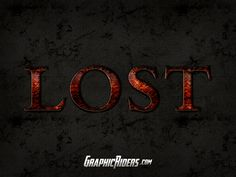 Ancient photoshop style – Lost