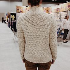 Grandson Cardigan - shawl-collar cardigan by Josh Bennett for Rowan.  Fringe Association