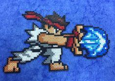 Street Fighter Ryu Hama Hama Beads by Hamamia on deviantART