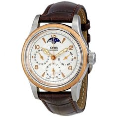 Oris Big Crown Silver Dial Moonphase Automatic Men's Watch 581-7566-4361LS