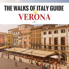The Piazza Bra is one of the central attractions of Verona. For more info on the best things to do in Verona read the Walks of Italy guide to Verona. Photo Courtesy of David Schiersner via Twitter…
