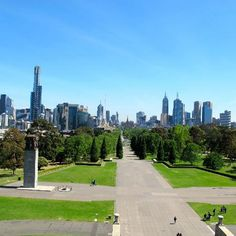 View from the Shrine of Remembrance #Melbourne #Australia