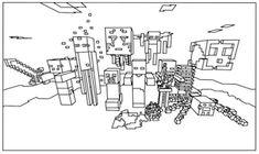 minecraft gangnam coloring