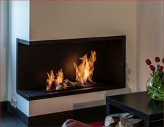 Nila - biokominek do zabudowy, narożny, długa linia ognia Living Room Designs, Living Room Decor, Home Reno, Home Interior Design, Home And Garden, House, Inspiration, Ideas, Trendy Tree