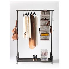 PORTIS Clothes rack from IKEA. This would be great in a large bathroom to  hold everything you need for