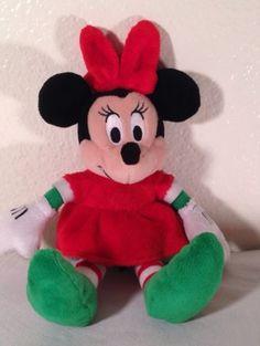 146cfa896ba TY Beanie Babies Christmas Minnie Mouse Plush 9