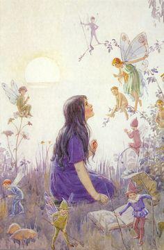 """ Margaret Tarrant - ""Fairy Secrets"" """