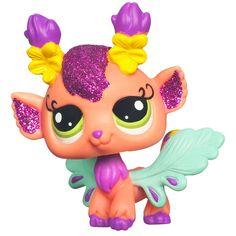 LPS Enchanted Series 01 - Honeysuckle Fairy With Snail - Littlest Pet Shop Enchanted Pets Lps Pets, Best Pal, Magical Creatures, Doll Accessories, Pet Shop, My Childhood, Minis, Pikachu, Fairy