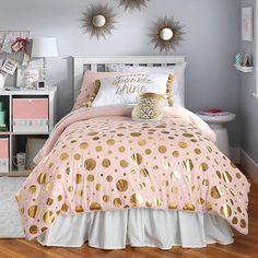Trendy bedroom ideas for teen girls twins comforter sets 50 Ideas Bedroom Design For Teen Girls, Teen Girl Bedrooms, Teen Bedroom, Home Decor Bedroom, Bedroom Ideas, Comfy Bedroom, Bedroom Wardrobe, Master Bedroom, Teen Girl Bedding