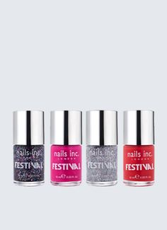 New limited edition shades to get your nails festival ready in time for next season. Make a statement with a bold and bright manicure whatever the weather!