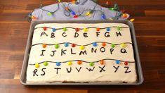 'Stranger Things'-Inspired Sheet Cake