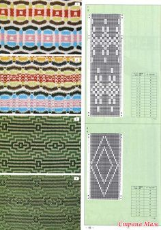 Pattern Library for Punch Card Knitters No 2